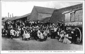 Children's Meeting at Wellington 1912