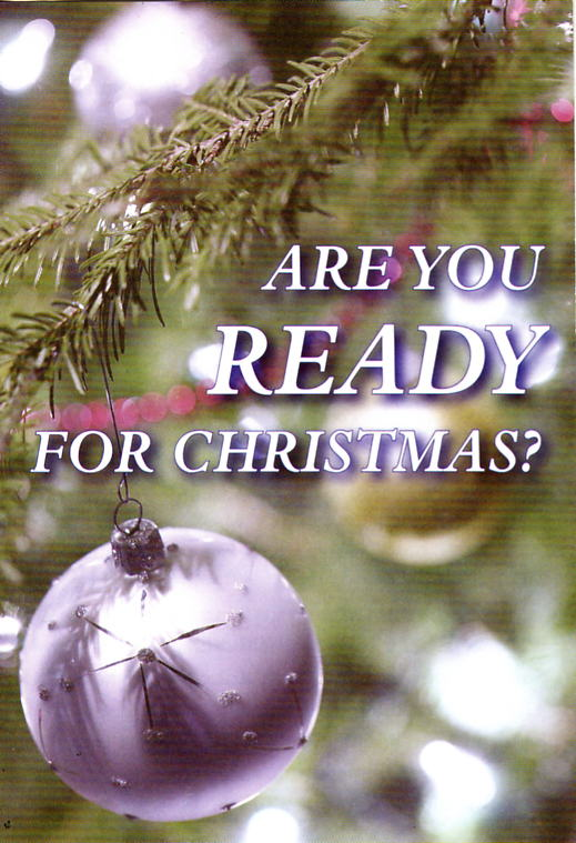Are you ready for Christmas? - The Open-Air Mission